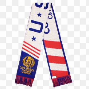 United States - Copa América Centenario United States Men's National Soccer Team Scarf 2015 Copa América PNG