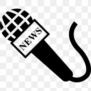 News Reporter - Microphone Kern High School District Journalist Clip Art PNG