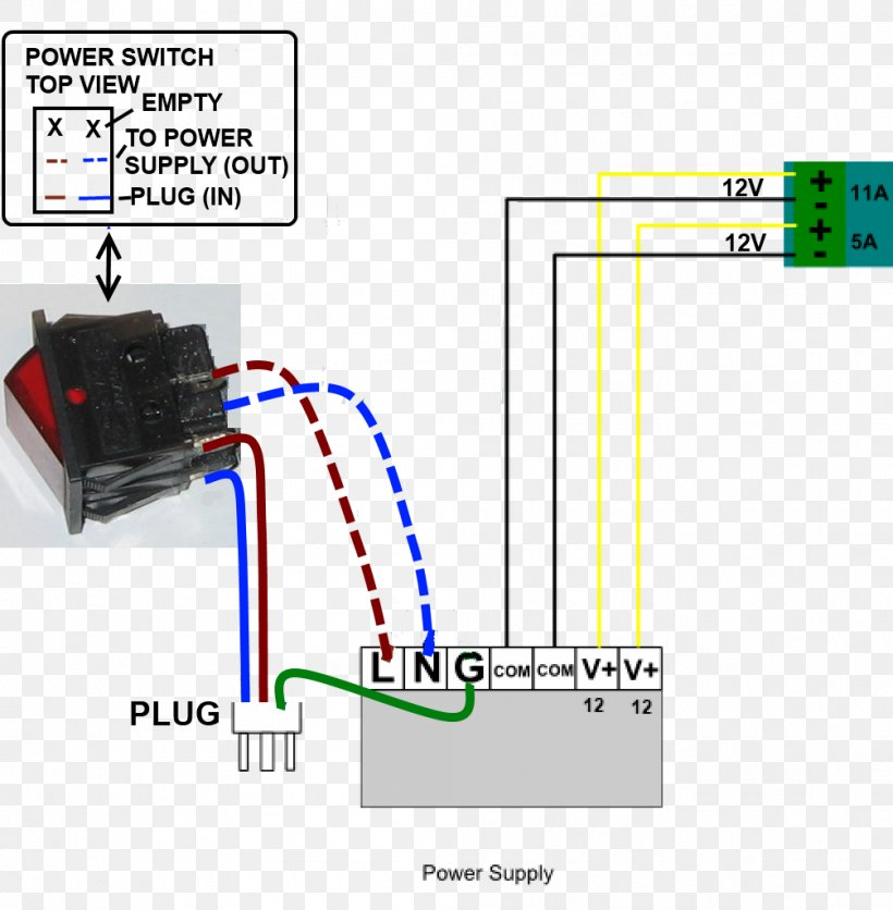 [GJFJ_338]  Power Supply Unit Wiring Diagram Electrical Switches Switched-mode Power  Supply Power Converters, PNG, 1005x1025px, Power | Wiring Diagram Power |  | FAVPNG.com