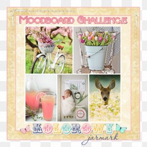Handmade Cards - Paper Easter Text Picture Frames Flower PNG