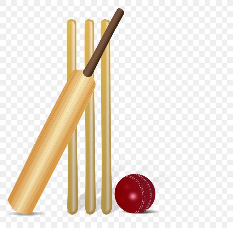 Cricket Bat Cricket Ball Clip Art, PNG, 800x800px, Cricket Bat, Ball, Baseball Bat, Batandball Games, Batting Download Free