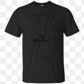 Broken Glass - Long-sleeved T-shirt Clothing PNG