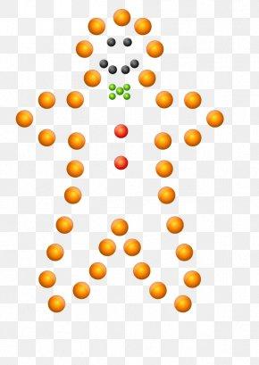 Gingerbread Man Silhouette - Gingerbread Man Clip Art PNG