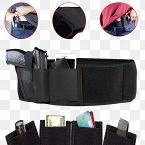 Gun Accessory - Gun Holsters Concealed Carry Handgun Firearm Belt PNG
