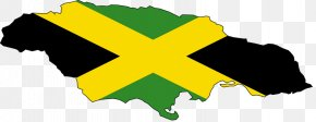 Color Splash - Flag Of Jamaica Map National Flag PNG