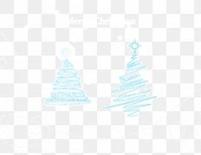Flat Christmas Tree Decoration Background - Blue Bracelet Jewellery Black Orange PNG