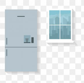 Home Furniture Refrigerator - Furniture Refrigerator Designer Wardrobe PNG