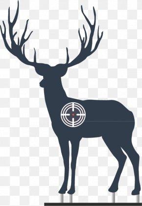Creative Moving Target - Rudolph Reindeer Moose PNG