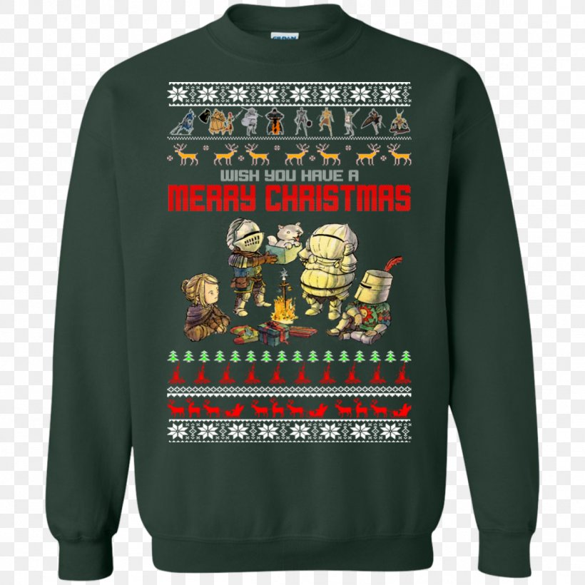 T-shirt Christmas Jumper Hoodie Sweater Sleeve, PNG, 1155x1155px, Tshirt, Active Shirt, Bluza, Brand, Christmas Download Free