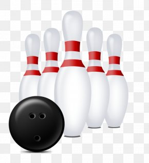Bowling FIG. - Bowling Pin Bowling Ball Ten-pin Bowling PNG