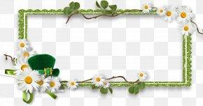 Saint Patrick's Day - Saint Patrick's Day Picture Frames Scrapbooking Clip Art PNG