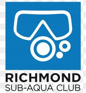 Aqua - Logo Brand Richmond Sub-Aqua Club (RSAC) Font PNG