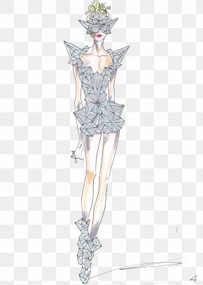 Fashion Model Transparent Background - Lady Gagas Meat Dress The Monster Ball Tour Armani Born This Way Ball Fashion PNG