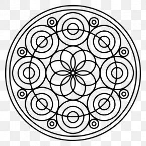 Child - Paint A Mandala Coloring Book Child Drawing PNG