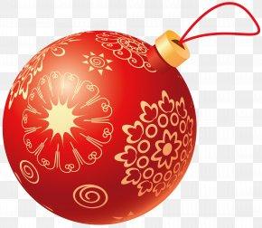 Jingling Bell - Christmas Ornament Ball Clip Art PNG