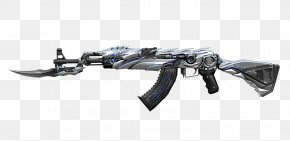AK47 - CrossFire Knife AK-47 Weapon M4 Carbine PNG