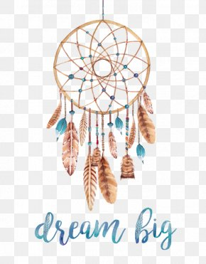 Boho - Dreamcatcher Poster Watercolor Painting Printmaking Printing PNG