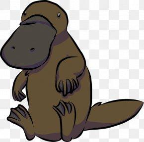 Wedding Card - Platypus Beaver Animal Cartoon Drawing PNG