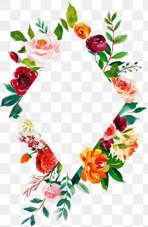 Christmas Decoration Floral Design - Floral Design PNG