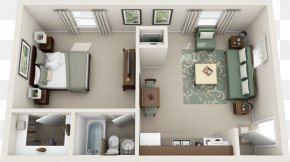 3d Floor Plan - Ballantyne House Plan Interior Design Services Apartment PNG