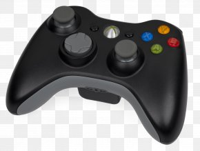 Xbox - Black Xbox 360 Controller Game Controllers Video Game Consoles PNG