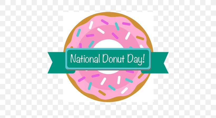Donuts National Doughnut Day Spring Township Library Central Library Wyomissing Middlesboro Daily News, PNG, 600x450px, Donuts, Brand, Easter Egg, Hiking, Label Download Free