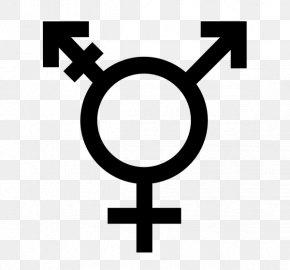 Symbol - Transgender Gender Symbol Transsexualism PNG