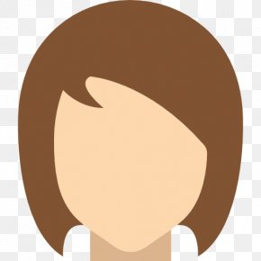 Women Hair - Cheek Eyebrow Facial Expression Forehead Nose PNG