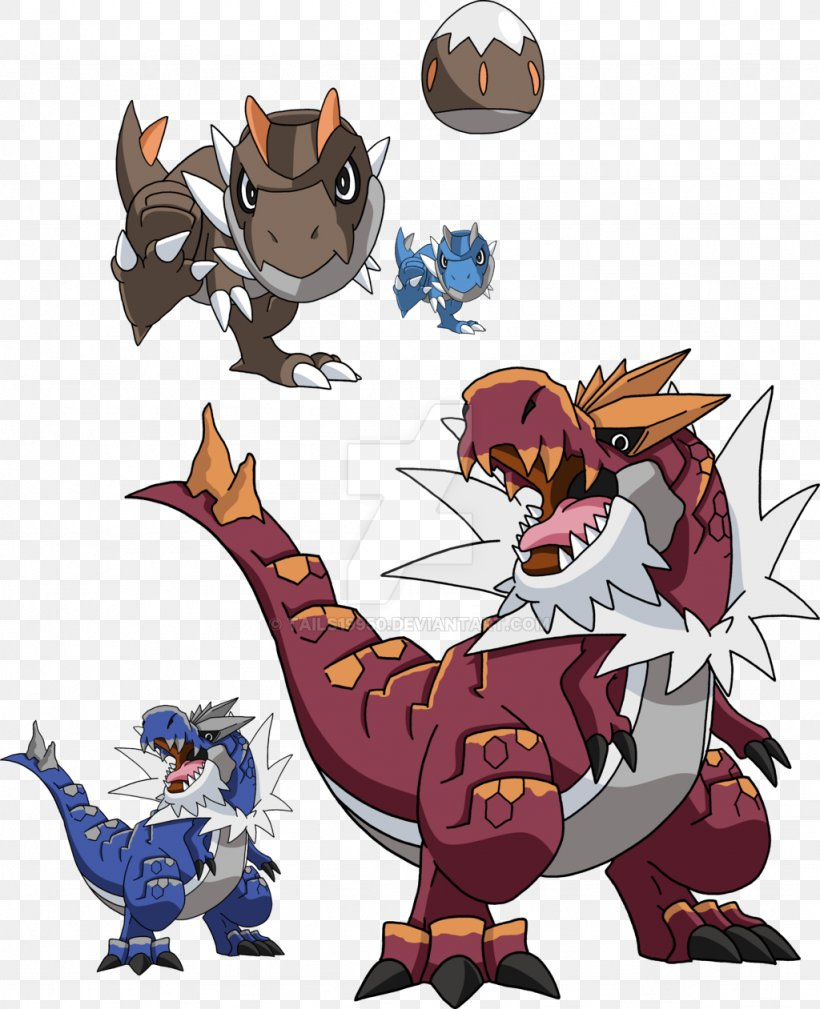 Pokemon X And Y Evolution Tyrunt Tyrantrum Png 1024x1261px