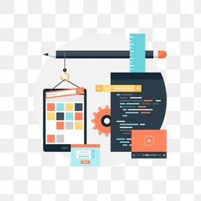 Furniture Flat Design - Digital Marketing Background PNG