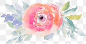 Watercolor Flower - Watercolour Flowers Watercolor Painting Drawing Clip Art PNG