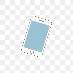 Blue And White Mobile Phone - Smartphone Feature Phone Mobile Phone Accessories Cellular Network PNG