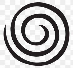 Circle Swirl - Logo Brand Black And White Font PNG