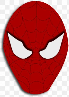Spiderman Face Template - Spider-Man Clip Art PNG