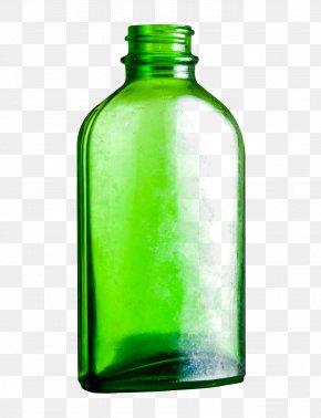 Empty Glass Bottle - Glass Bottle PNG