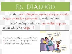 Conversacion - Dialogue Writing Conversation Speech Text PNG