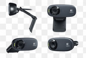 Black Camera - Microphone Webcam High-definition Video 720p USB PNG