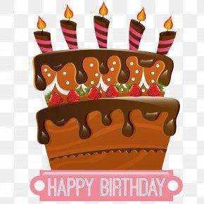 Birthday Cake - Birthday Cake Ice Cream Cake Chocolate Cake Cupcake PNG