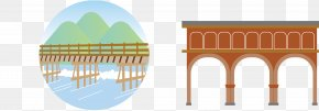 Vector Bridge - Bridge Cartoon PNG