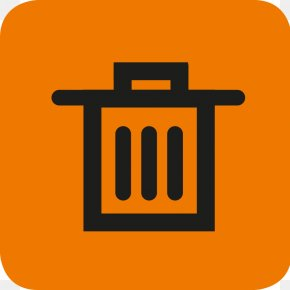 Delete Button Photos - Waste Container Recycling Bin Icon PNG