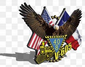 America - American Legion Flag Day Emblem Train PNG