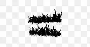 Black And White - Photography Silhouette Black And White Party PNG