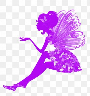 Flower Fairy - Wall Decal Sticker Polyvinyl Chloride PNG