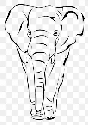 Mandala Elephant - African Elephant Elephantidae Drawing Indian Elephant Clip Art PNG