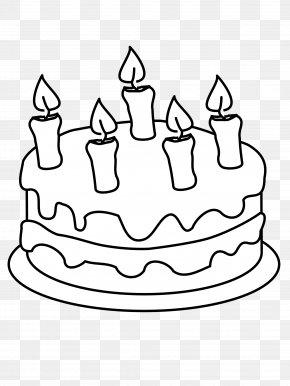 Birthday Cake - Birthday Cake Cupcake Wedding Cake Coloring Book PNG