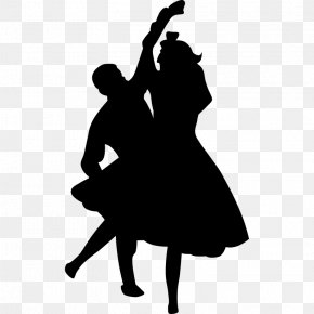 Fifties Dance Cliparts - Dance Rock And Roll Swing Clip Art PNG