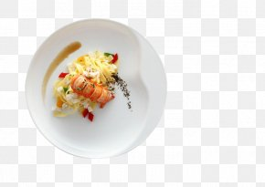 Pan-fried Lobster - Lobster Ribs Fried Chicken Fried Egg Omelette PNG