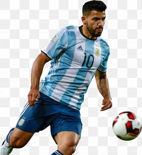 Football - Sergio Agüero Argentina National Football Team Jersey 2018 FIFA World Cup PNG