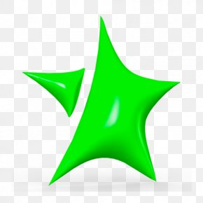 Star Plant - Green Leaf Logo PNG
