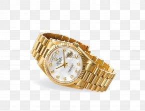 Gold Rolex Watch Watches - Rolex Submariner Counterfeit Watch Rolex GMT Master II PNG